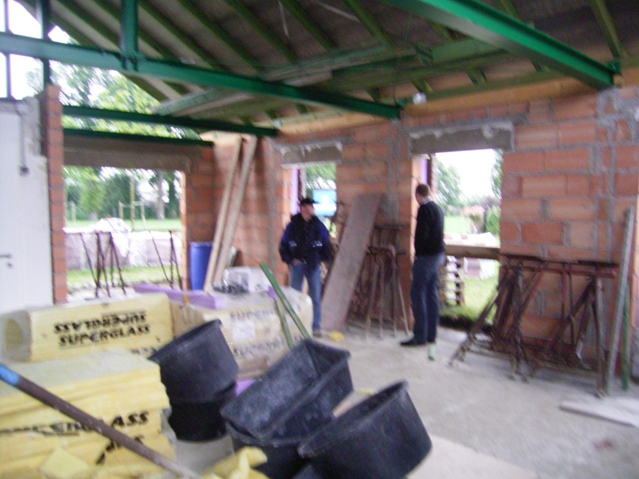 Errichtung des Schützenhauses 2