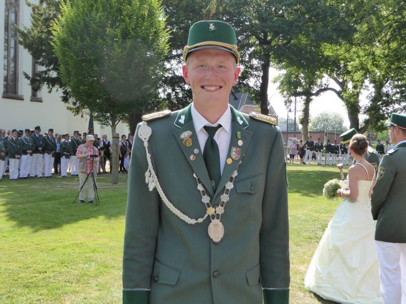 Jungschützenkönig 2019 Darius Rühmann