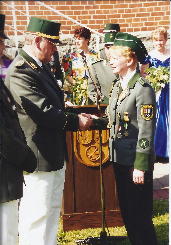 Jungschützenkönigin 1994 Monika Hölscher