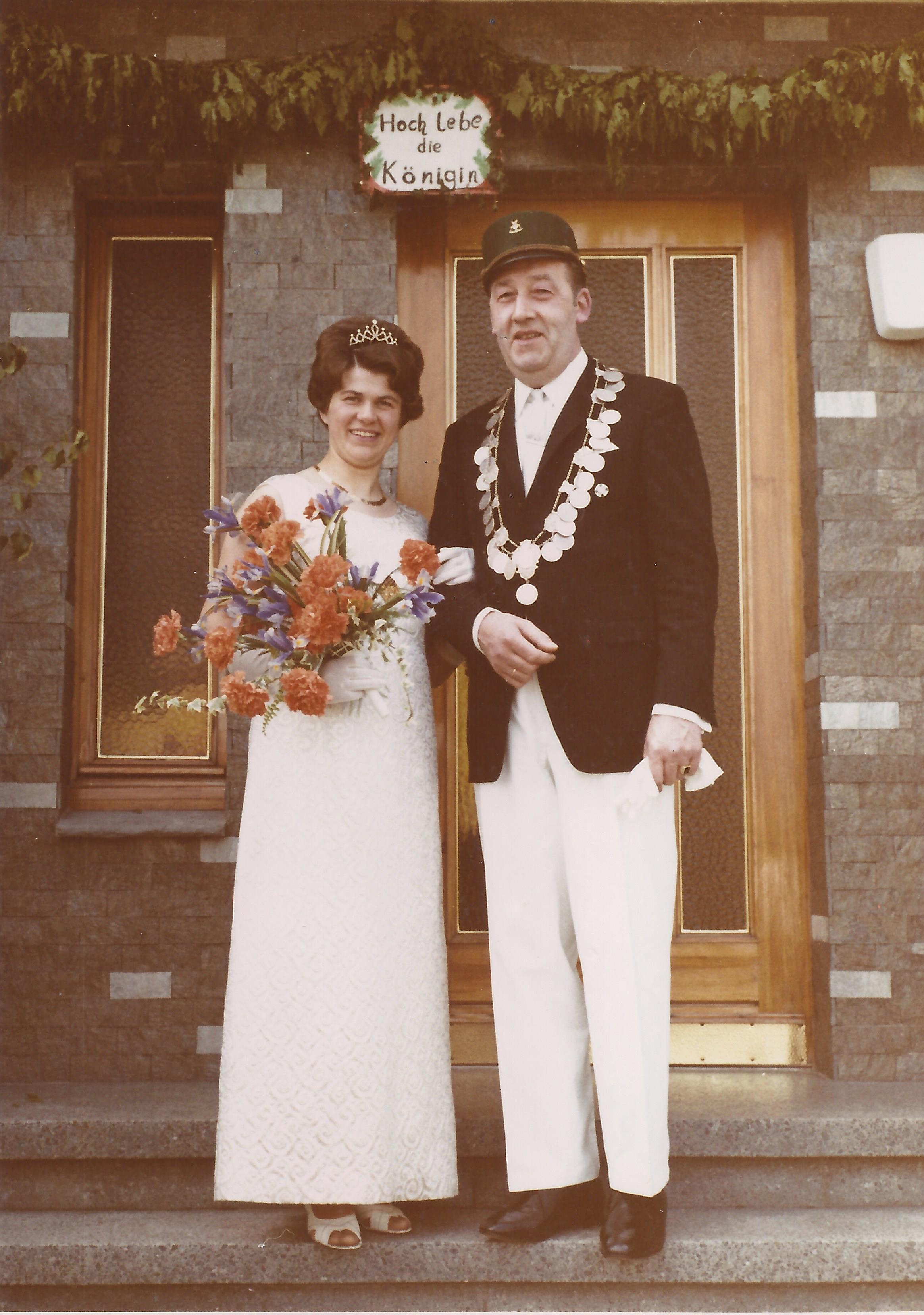 Königspaar vor 50 Jahren